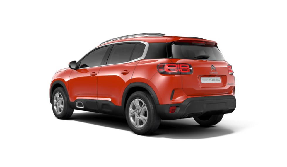 C5 Aircross Volcano Red