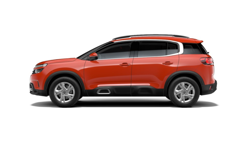 C5 Aircross Volcano Red_side